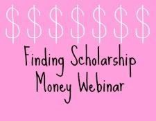 Scholarship Webinar